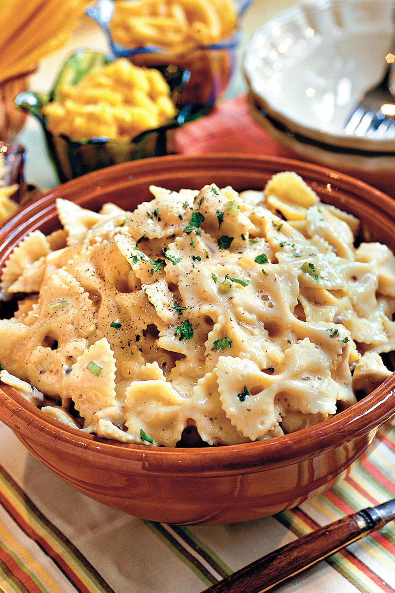 Chicken And Bow Tie Pasta This Creamy Recipe