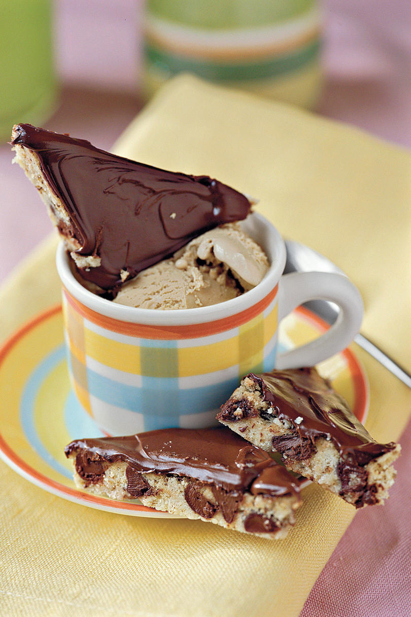 Mocha-Chocolate Shortbread