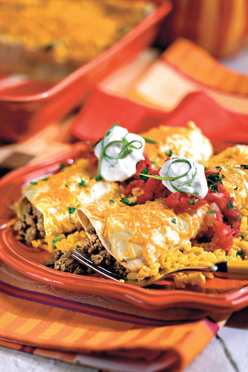 Quick and Easy Dinner Recipes: Smothered Enchiladas