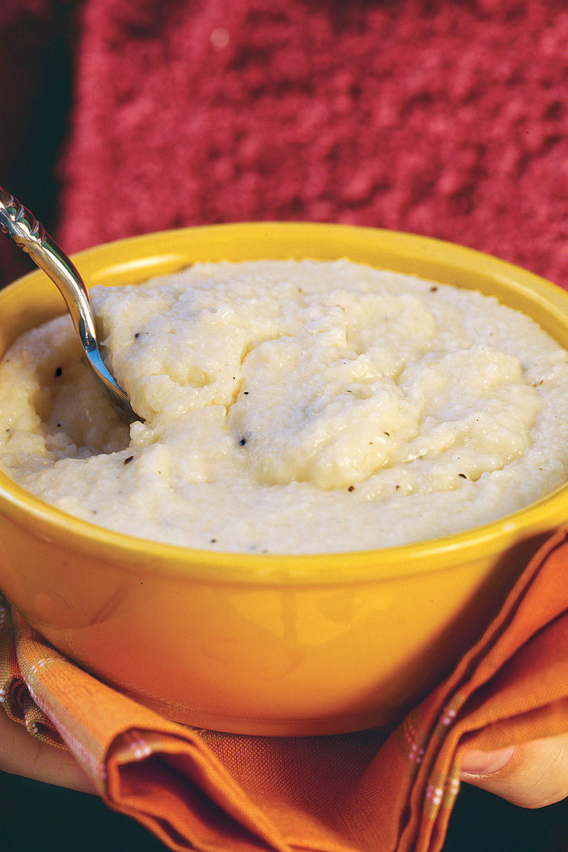 Father's Day Brunch Recipe Ideas: Creamy Cheese Grits