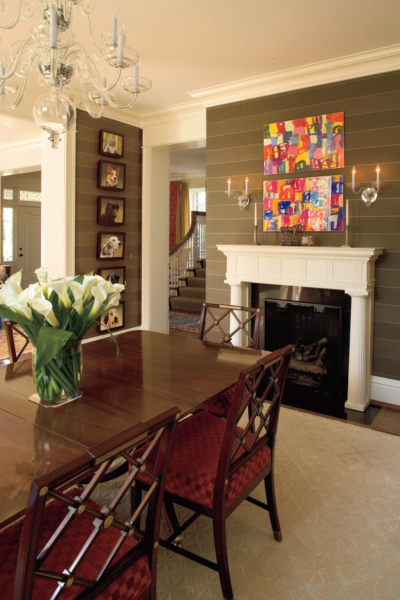 Stylish dining room decorating ideas southern living emphasize architectural details dzzzfo