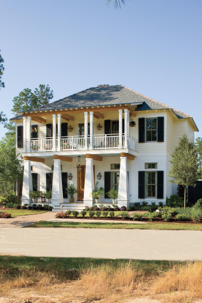 Southern living idea house 2010 bayou bend floor plans for Louisiana house plans
