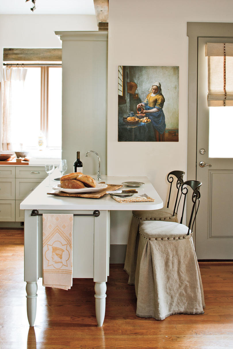 Eat in kitchen design ideas southern living for Decorating eat in kitchen ideas