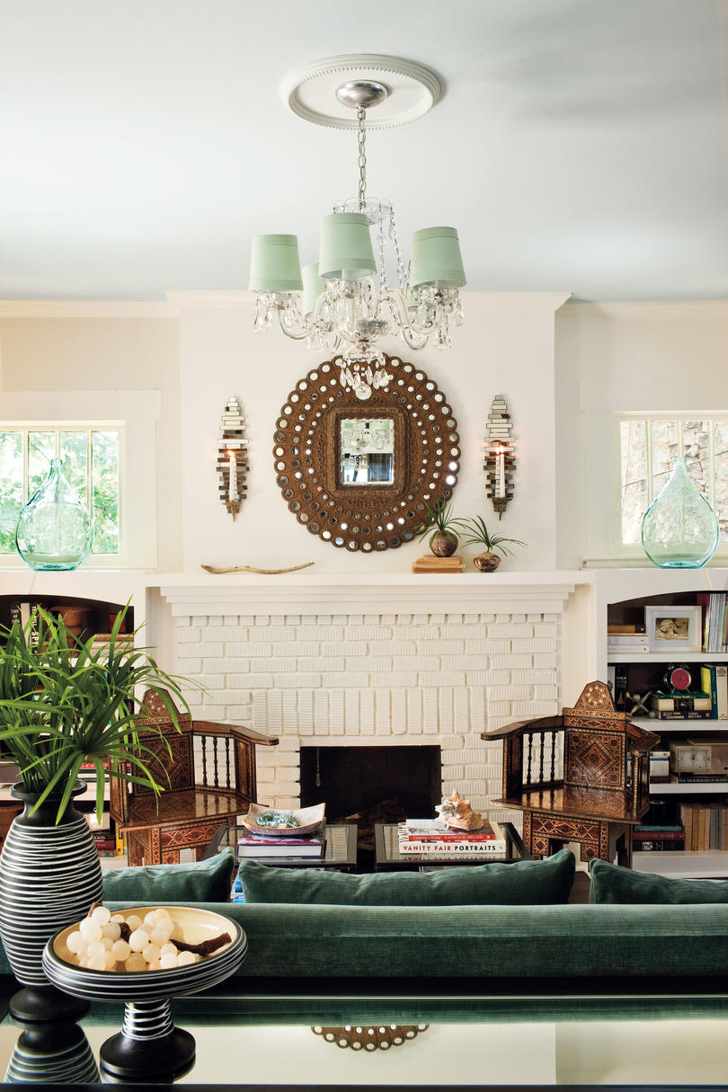living room portraits. Know When To Save or Splurge 106 Living Room Decorating Ideas  Southern