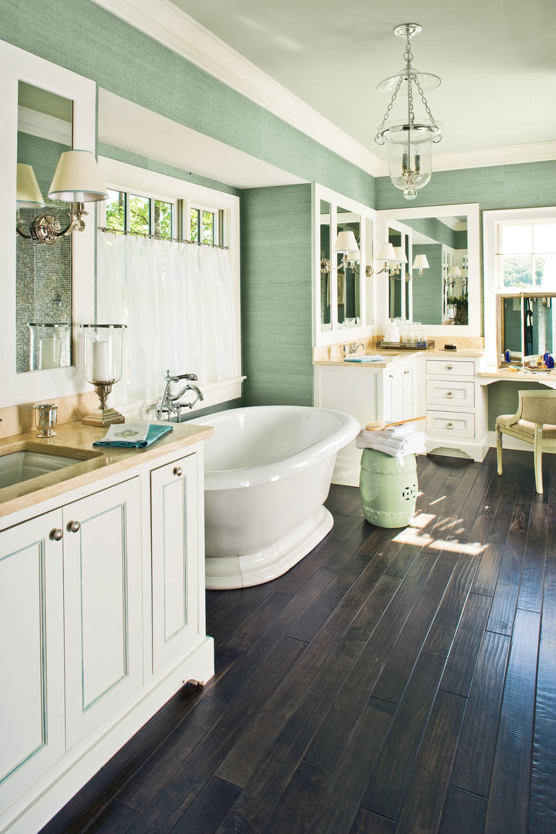 Master bathroom ideas for a calming retreat southern living - Master bathroom decorating ideas ...