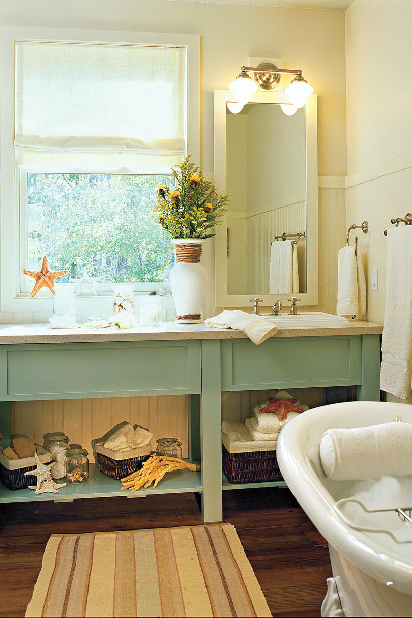 Interior Southern Living Bathrooms 65 calming bathroom retreats southern living accent with color