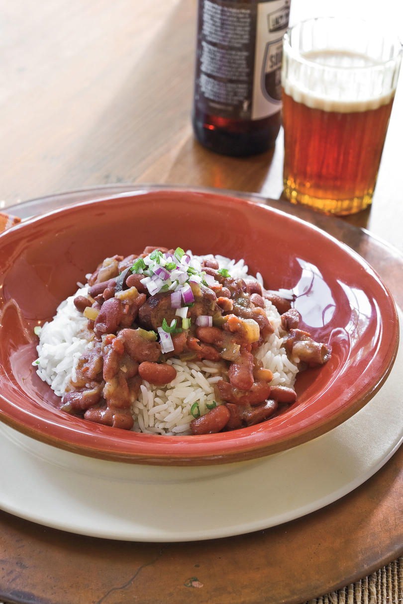 RX_ Slow-Cooker Red Beans and Rice Mardi Gras