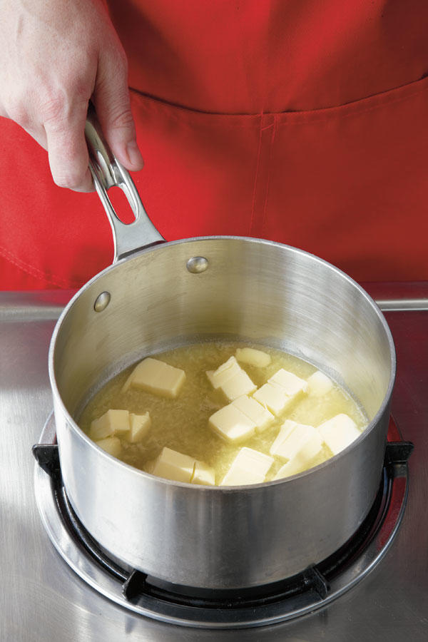 Step 1: Melt Butter