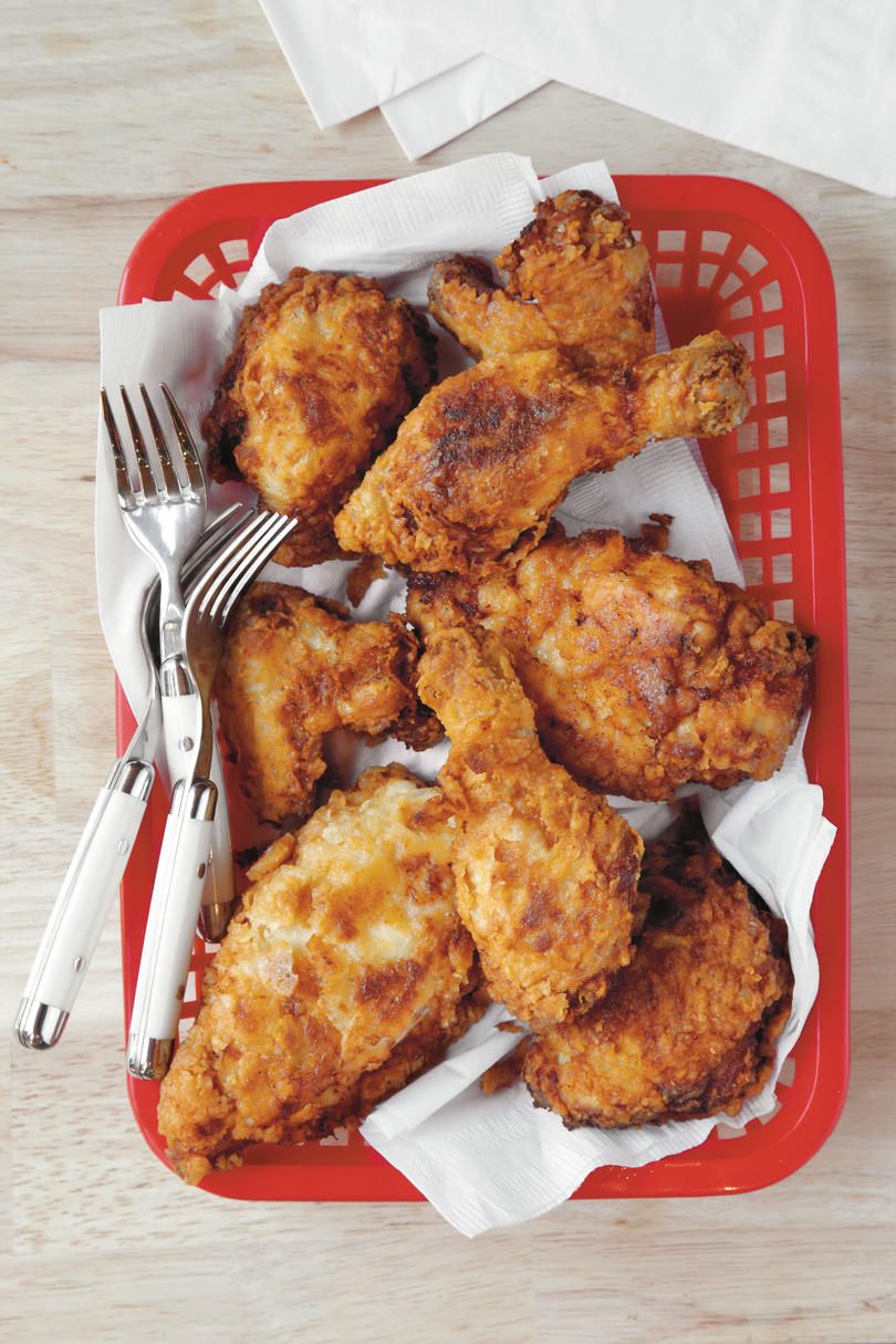 How to fry a chicken in the oven, or How incomprehensible is simple 25