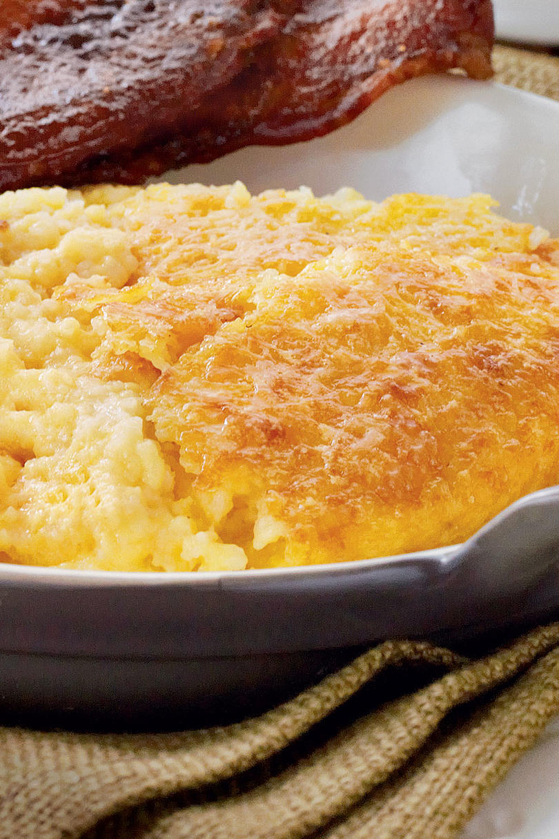 RX_0911 G Cheddar Cheese Grits Casserole