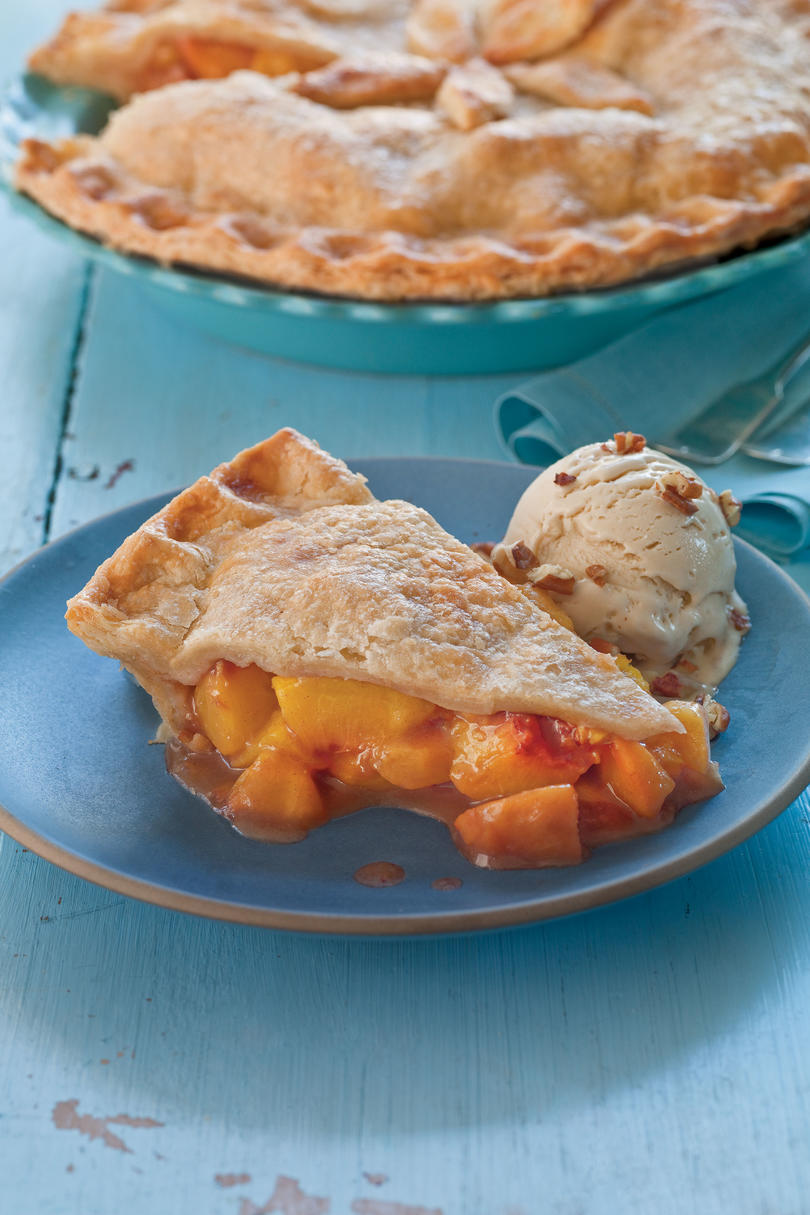 Brown Sugar-Cinnamon Peach Pie