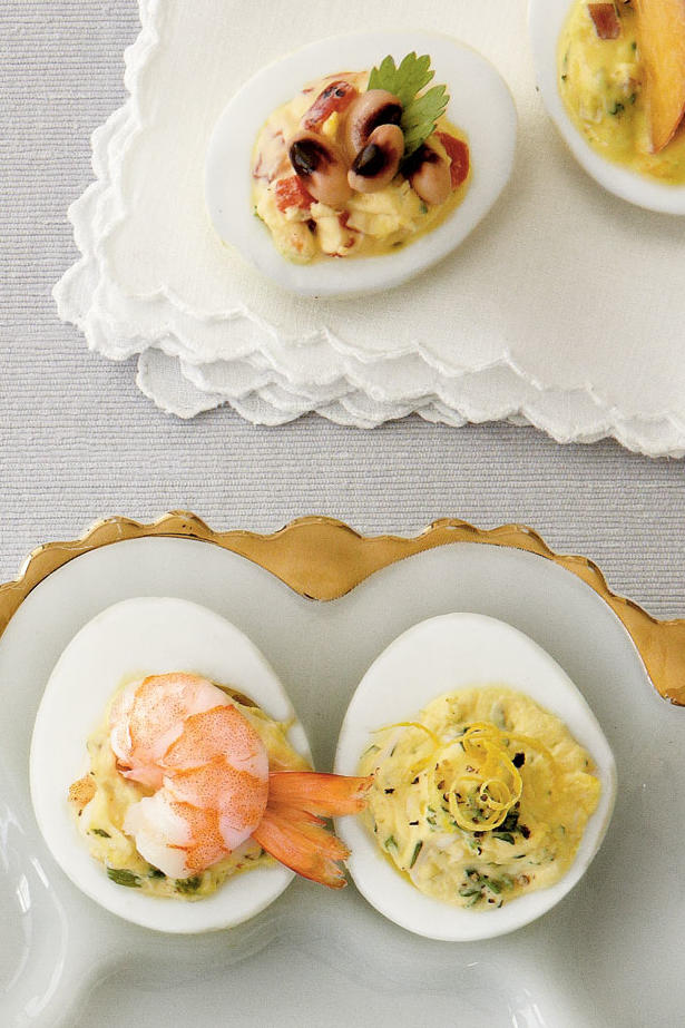Creole Shrimp Deviled Eggs