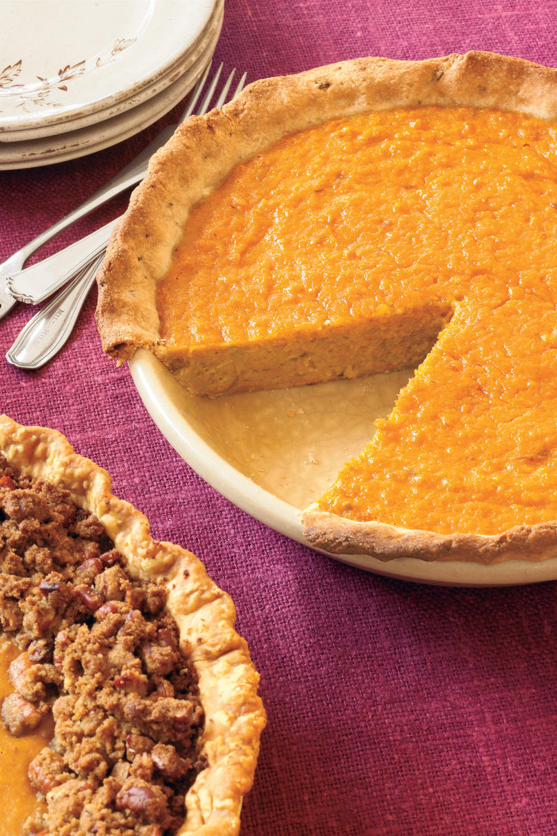 November: Orange-Sweet Potato Pie