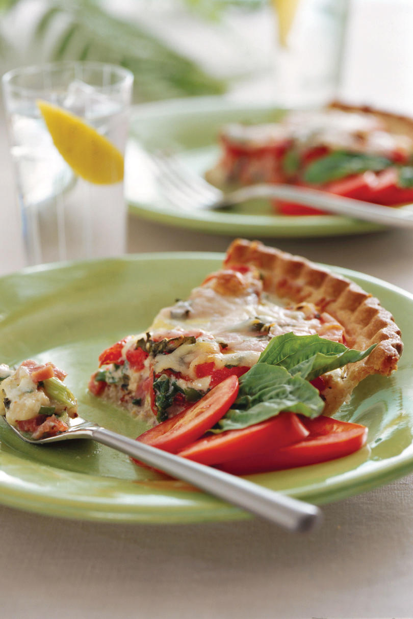 Ham-and-Tomato Pie Recipe