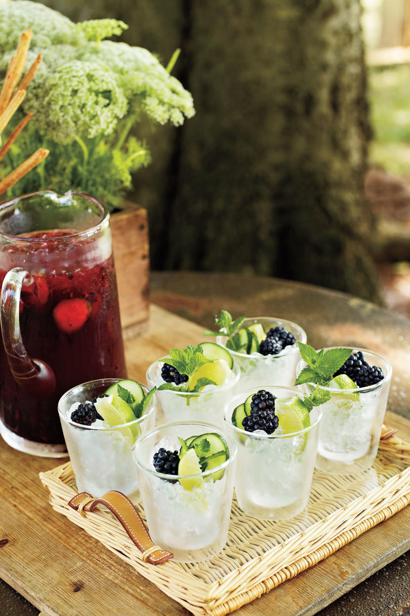 Fourth of July Recipes: Blackberry Cocktail