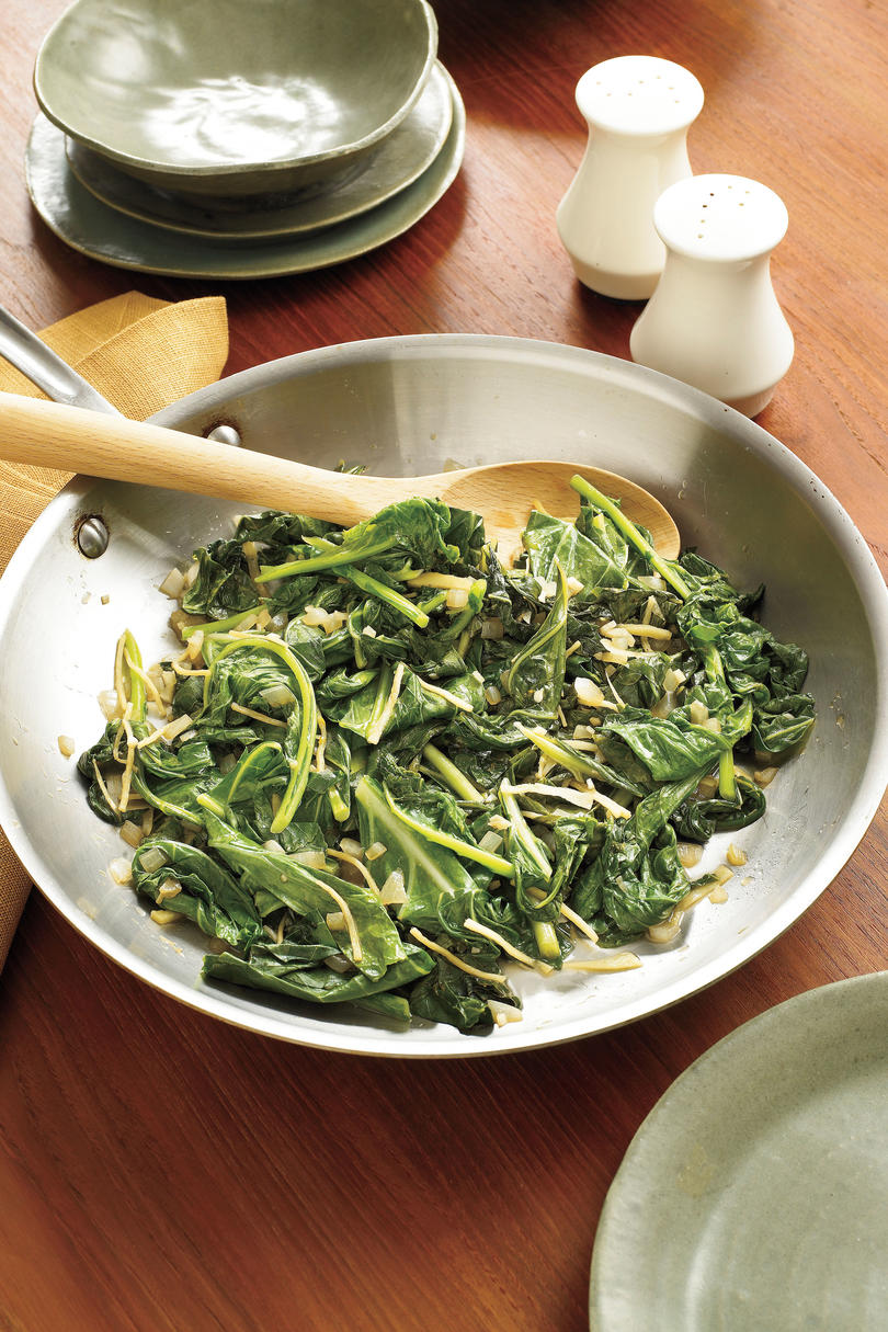 Southern Living Recipe: Sauteed Greens