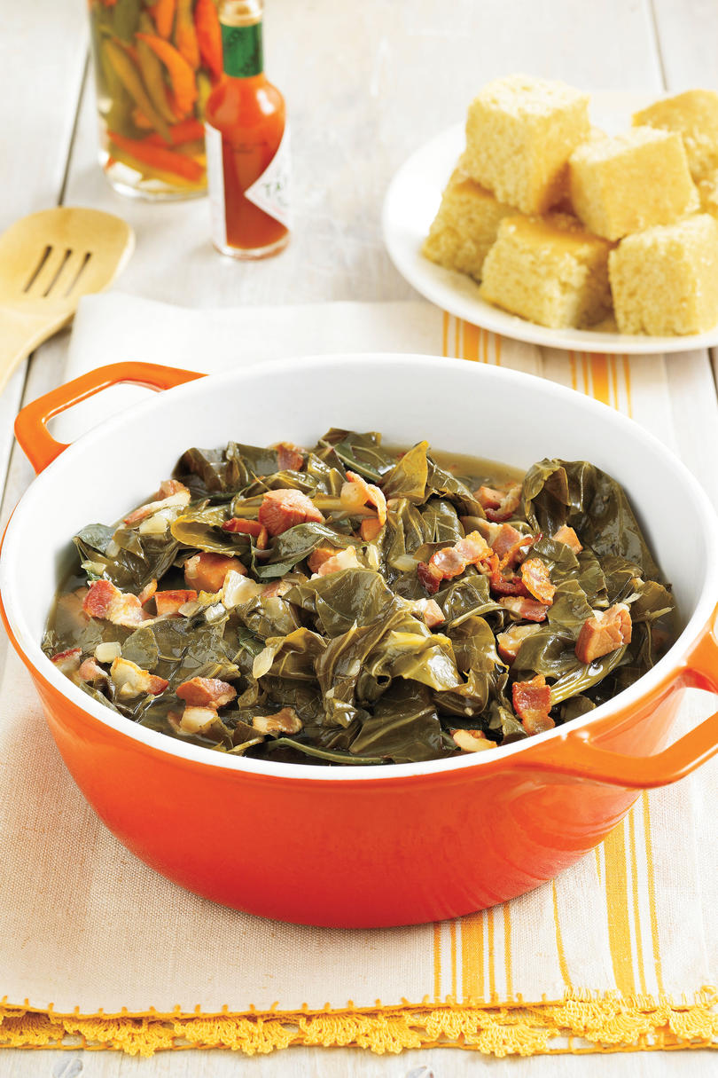 101 best classic comfort food recipes southern living southern style collard greens forumfinder Gallery