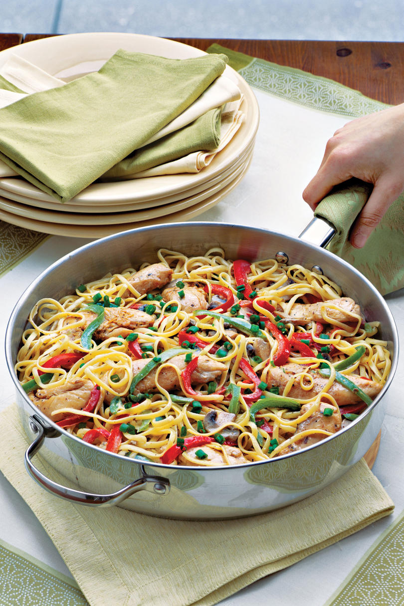 Easy Pasta Recipes: Cajun Chicken Pasta