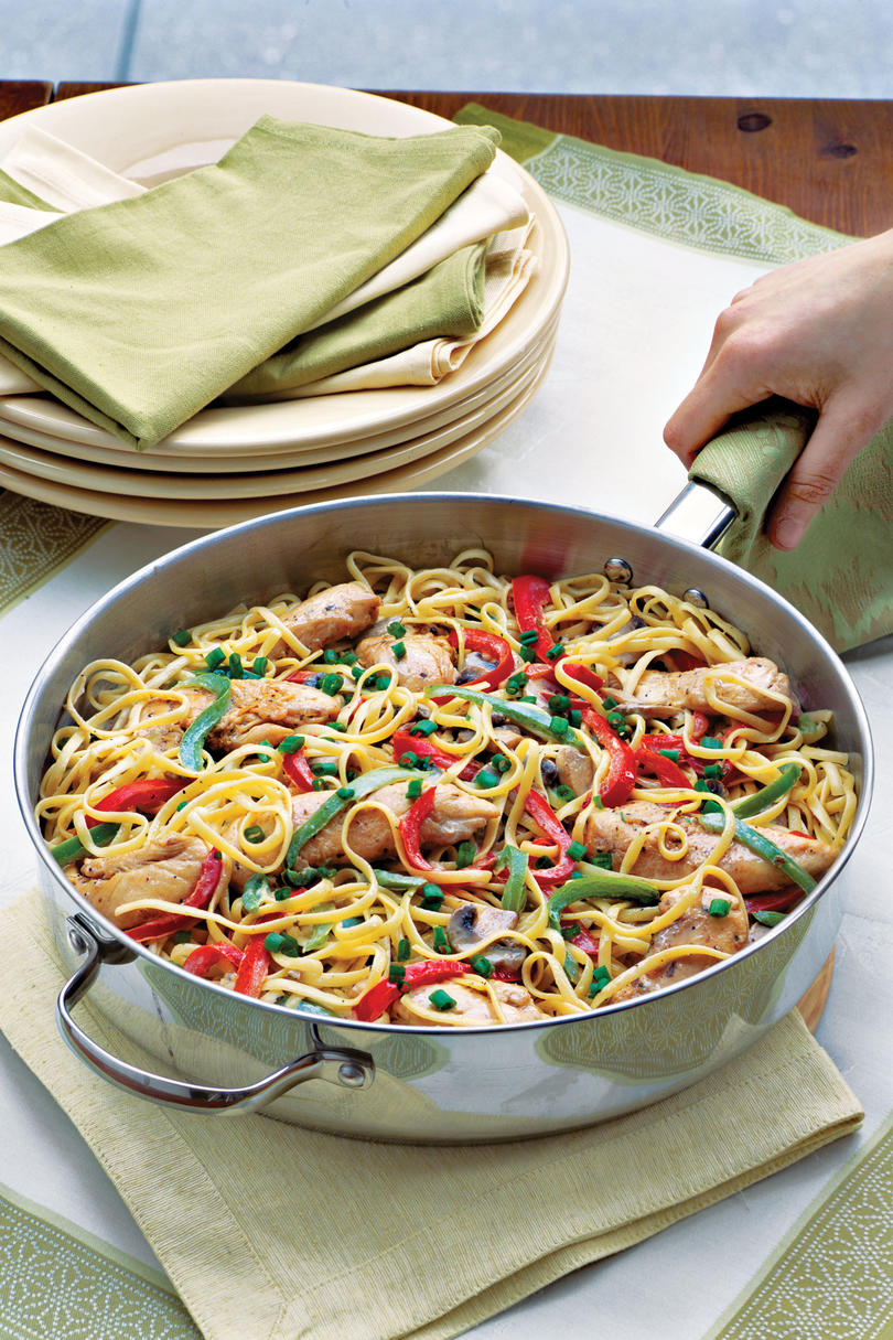 Quick and easy cajun and creole recipes southern living cajun chicken pasta recipes forumfinder Image collections