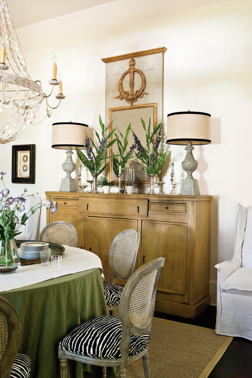 buy only what you love - British West Indies Interior Design