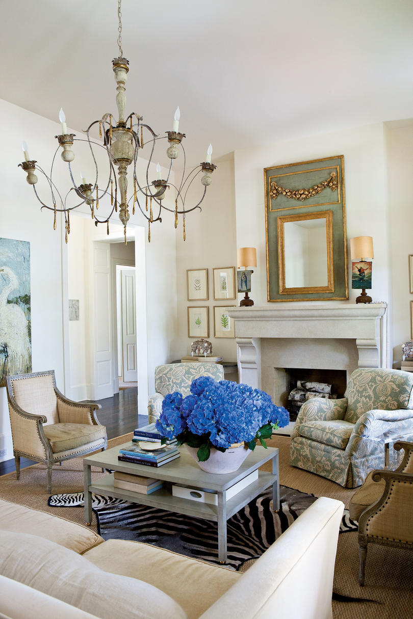 classic southern home southern living. Black Bedroom Furniture Sets. Home Design Ideas