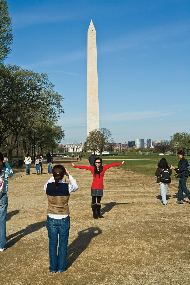 picture of washington dc mall obelisk