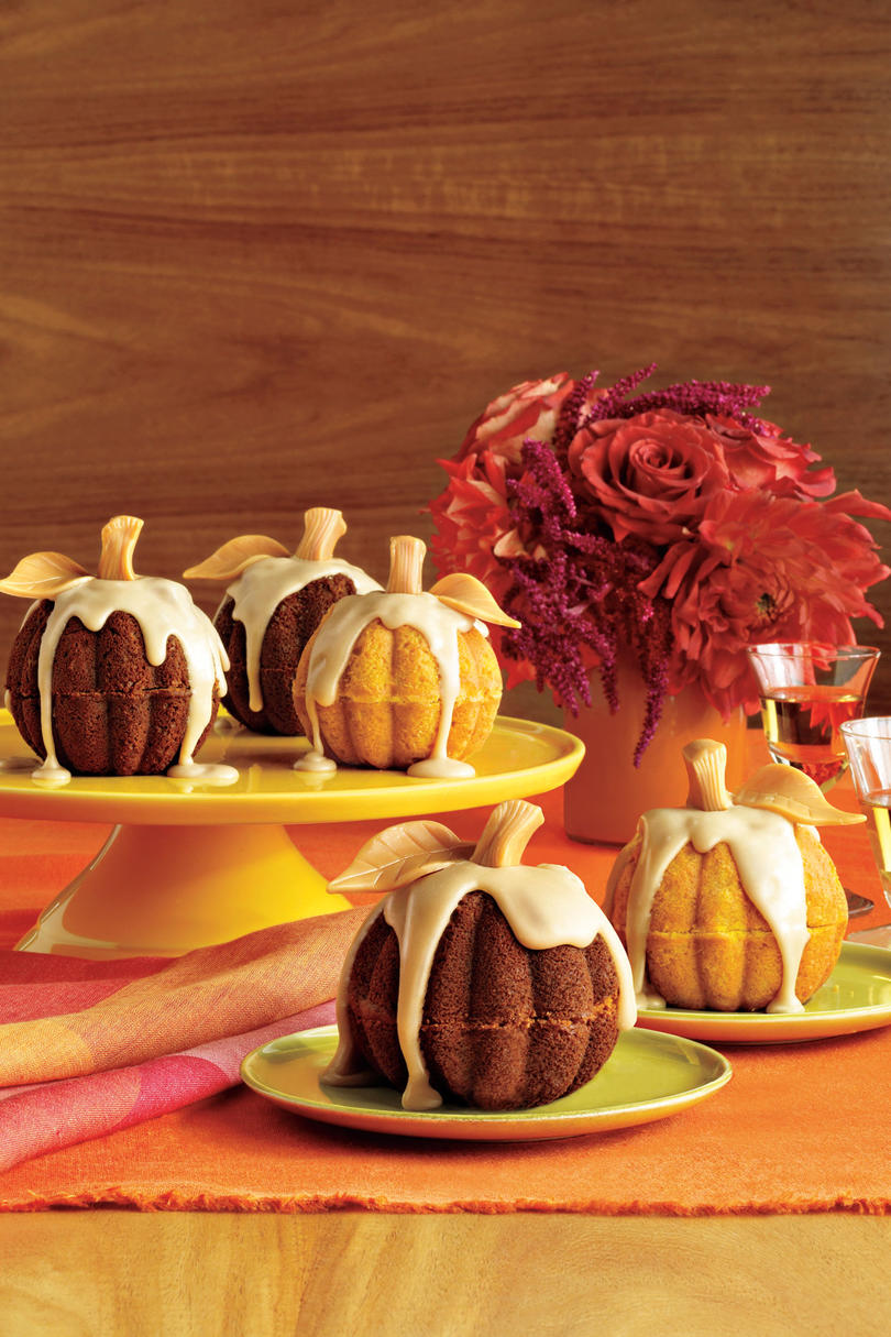Southern Living Pumpkin Recipes: Mini Pumpkin Cakes
