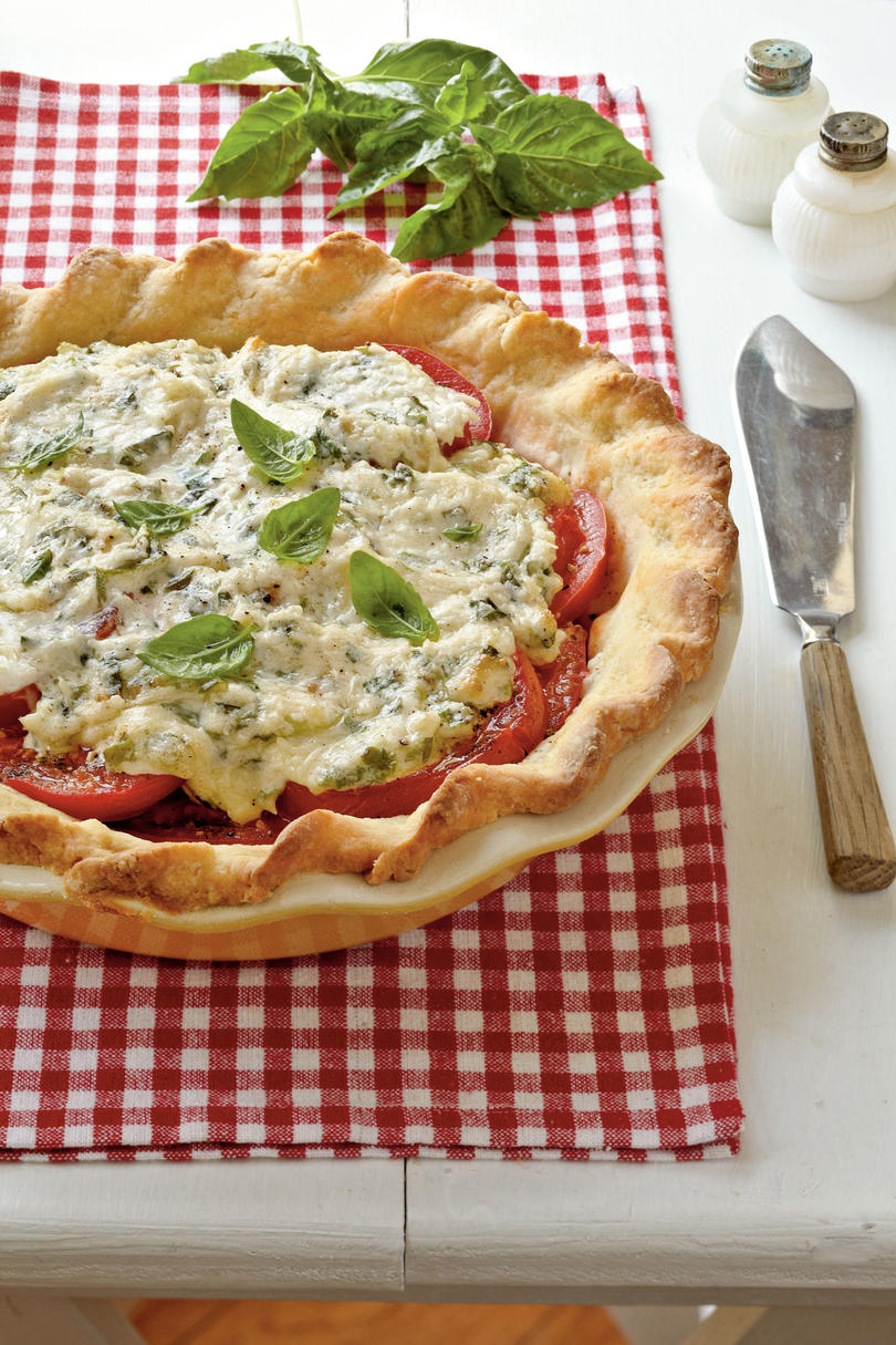 Traditional Tomato Pie