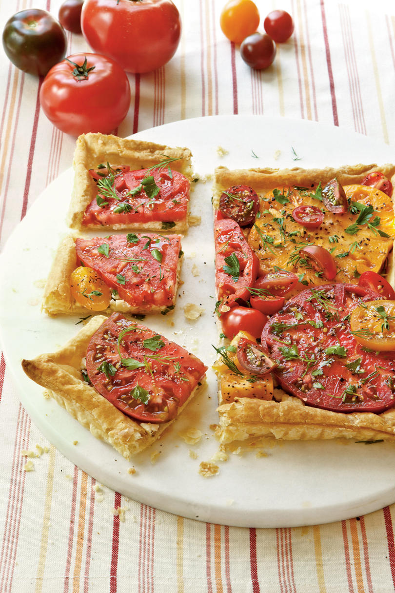 Thursday Herbed Tomato Tart Recipe