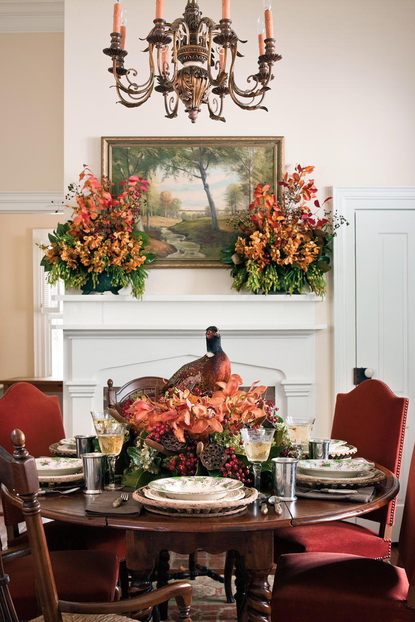 20 Decorating Ideas From The Southern Living Idea House: Fall Decorating Ideas -Southern Living