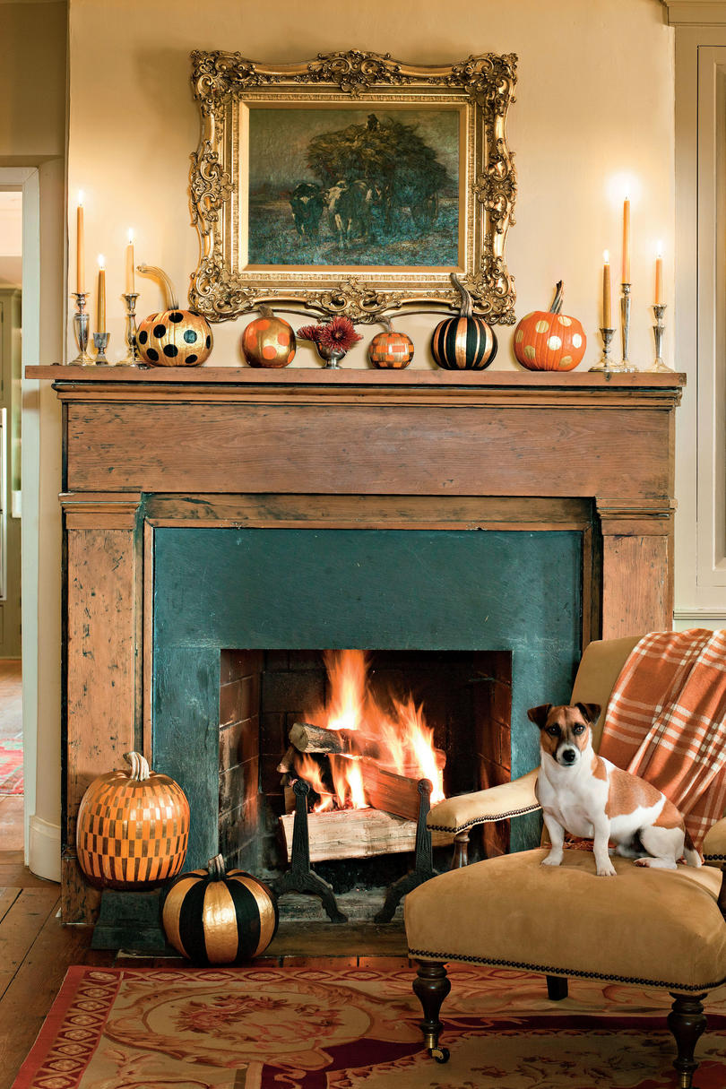 fall decorating ideas southern living fancy pumpkin display