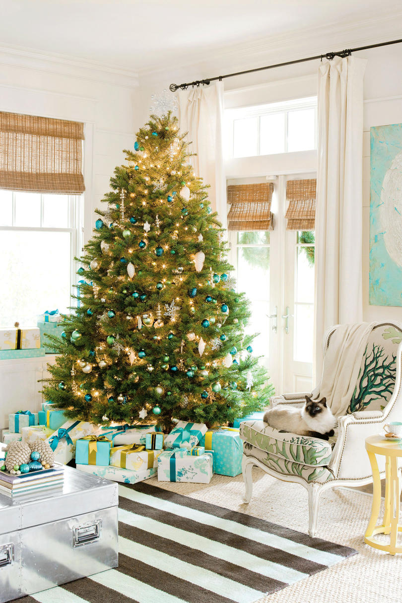 colorful coastal - Coastal Christmas Decorations For Sale