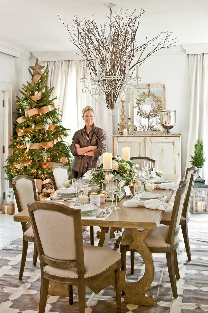 Ideas for a cocktail party at home - More Christmas Party Ideas