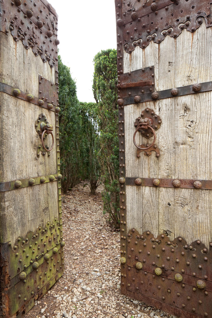 Mysterious Maze Gate