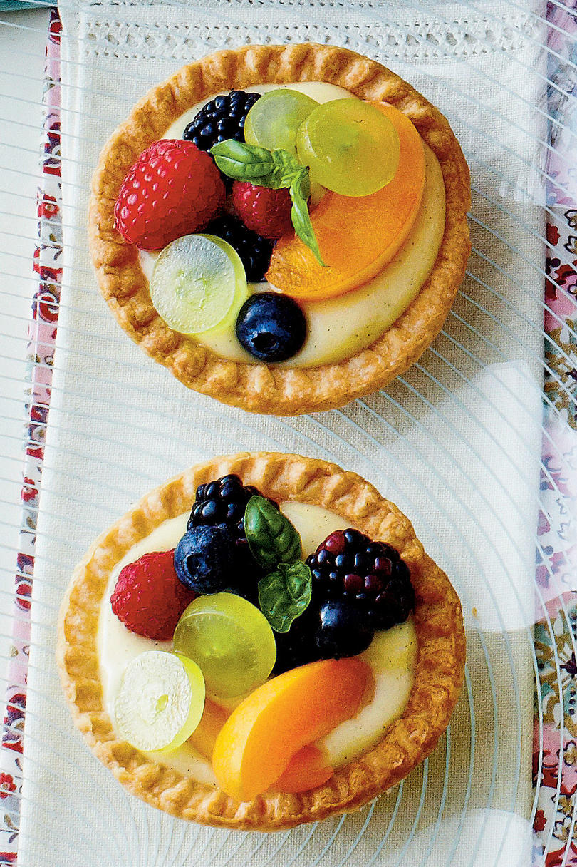 Vanilla-Buttermilk Tarts Recipe