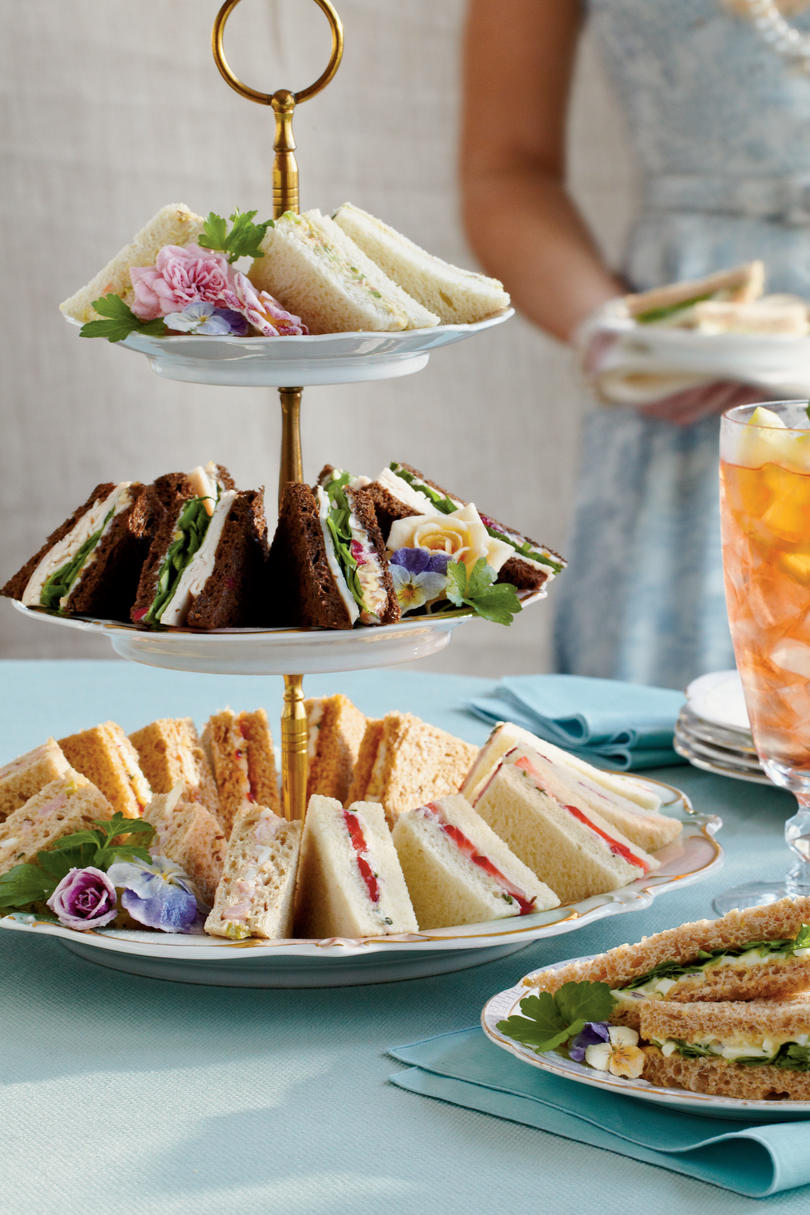 Easy Amp Elegant Tea Sandwiches Southern Living