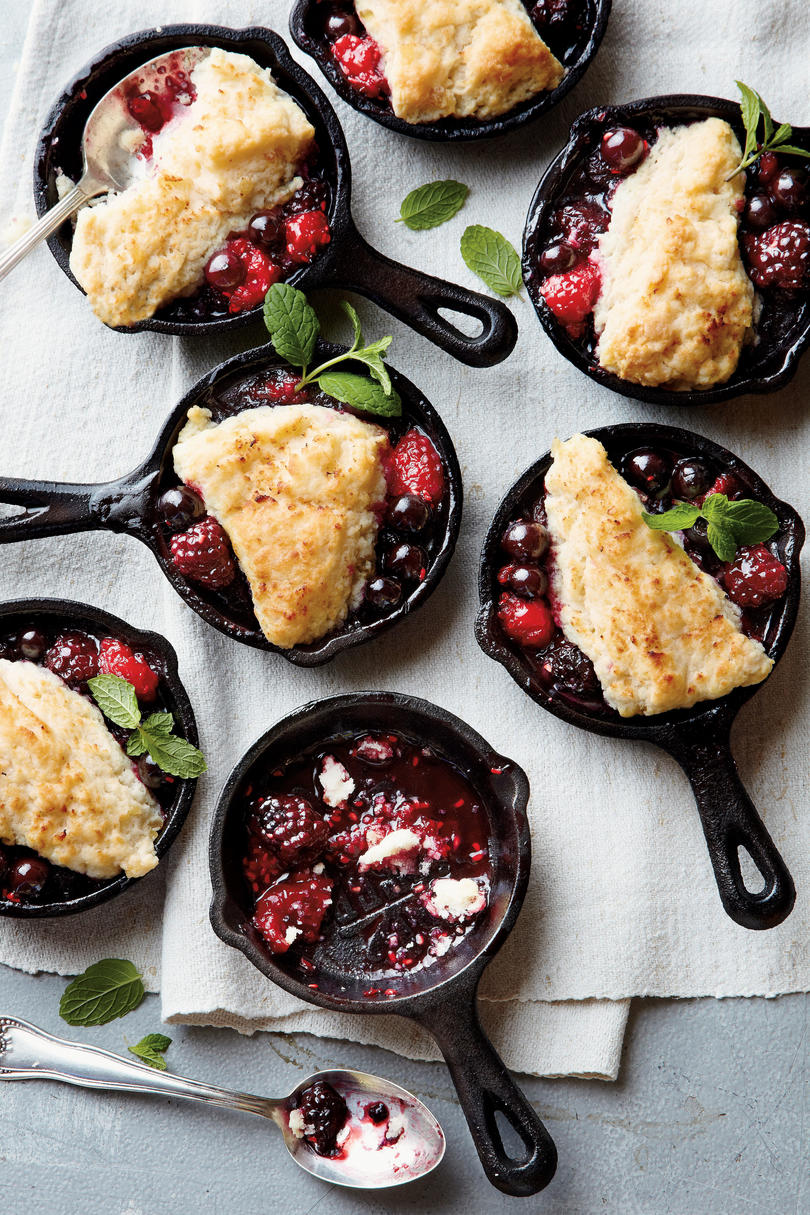 Mini Berry Cobblers Recipe