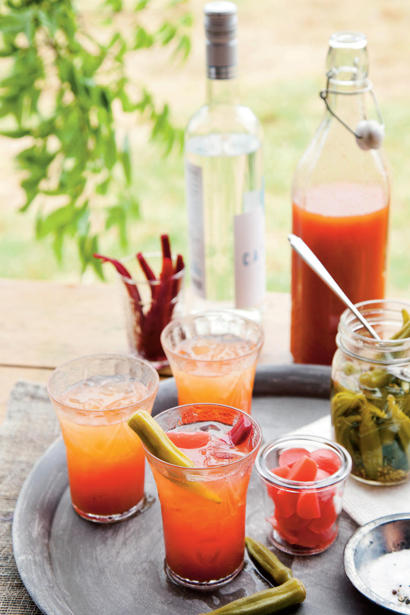 Here S How To Build Your Own Bloody Mary Bar Southern Living