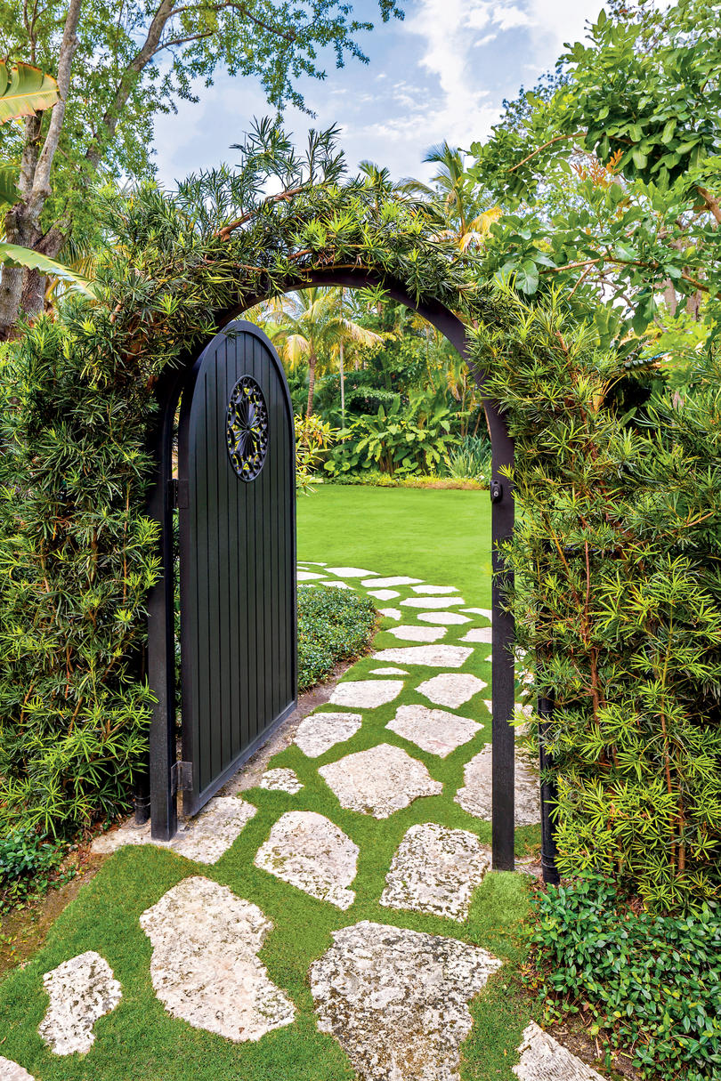 Entry Into the Private Garden