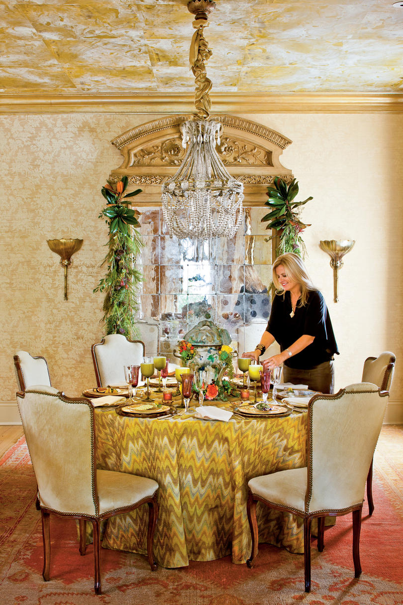 New Orleans-Style Table Setting