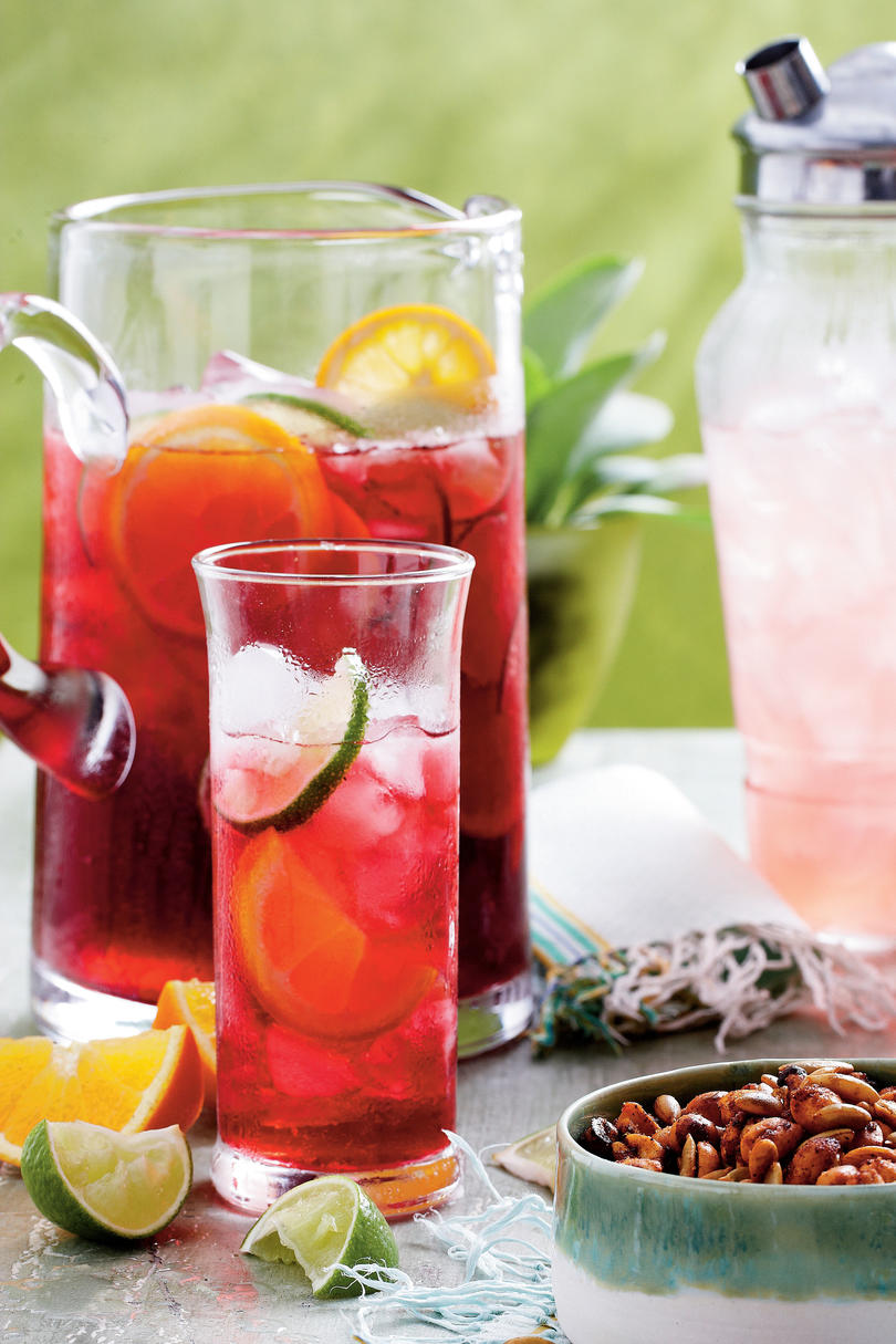 Iced Hibiscus Sweet Tea