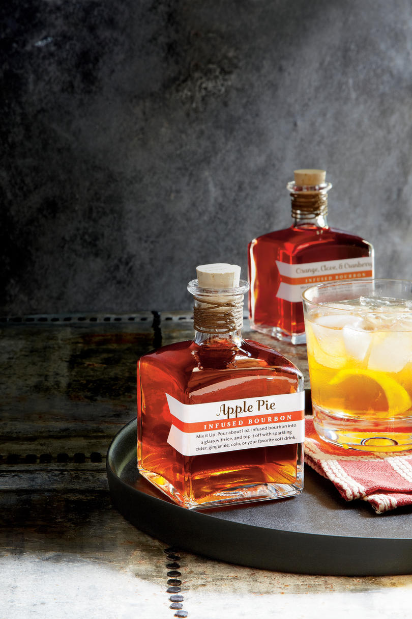 Apple-Pie Infused Bourbon