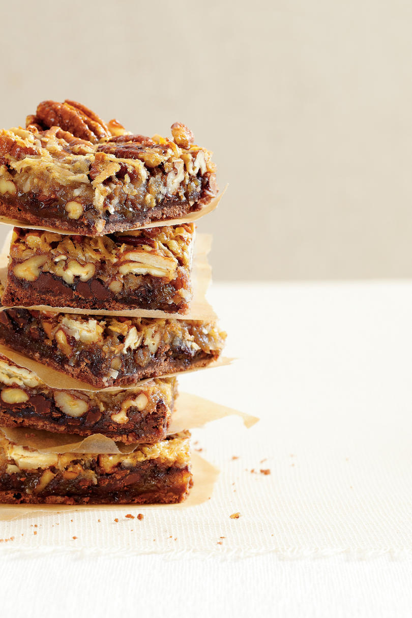 German Chocolate Pecan Bars