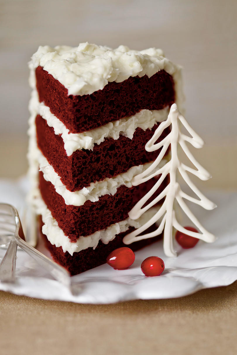 Southern red velvet cake recipe cream cheese frosting