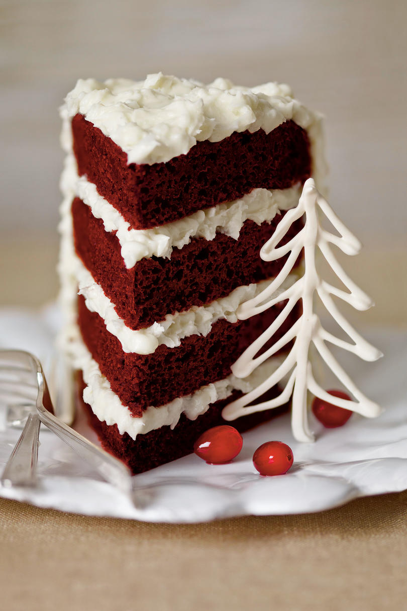 Peppermint Red Velvet Cake Southern Living