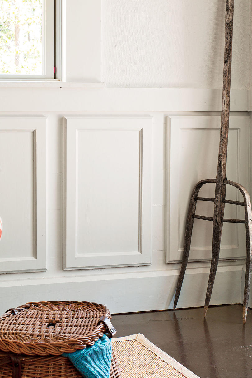 Budget-Savvy Solution: Repurposed Paneling