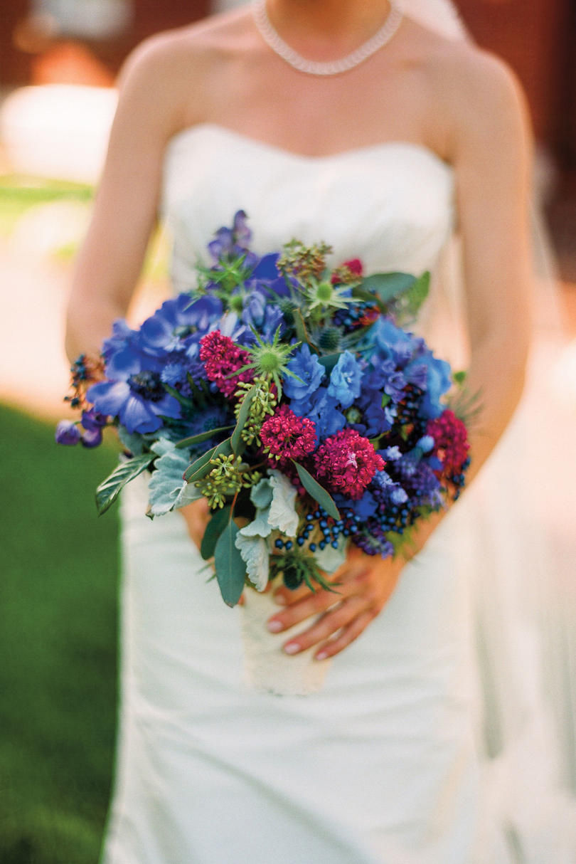 Jewel-Toned Bouquet