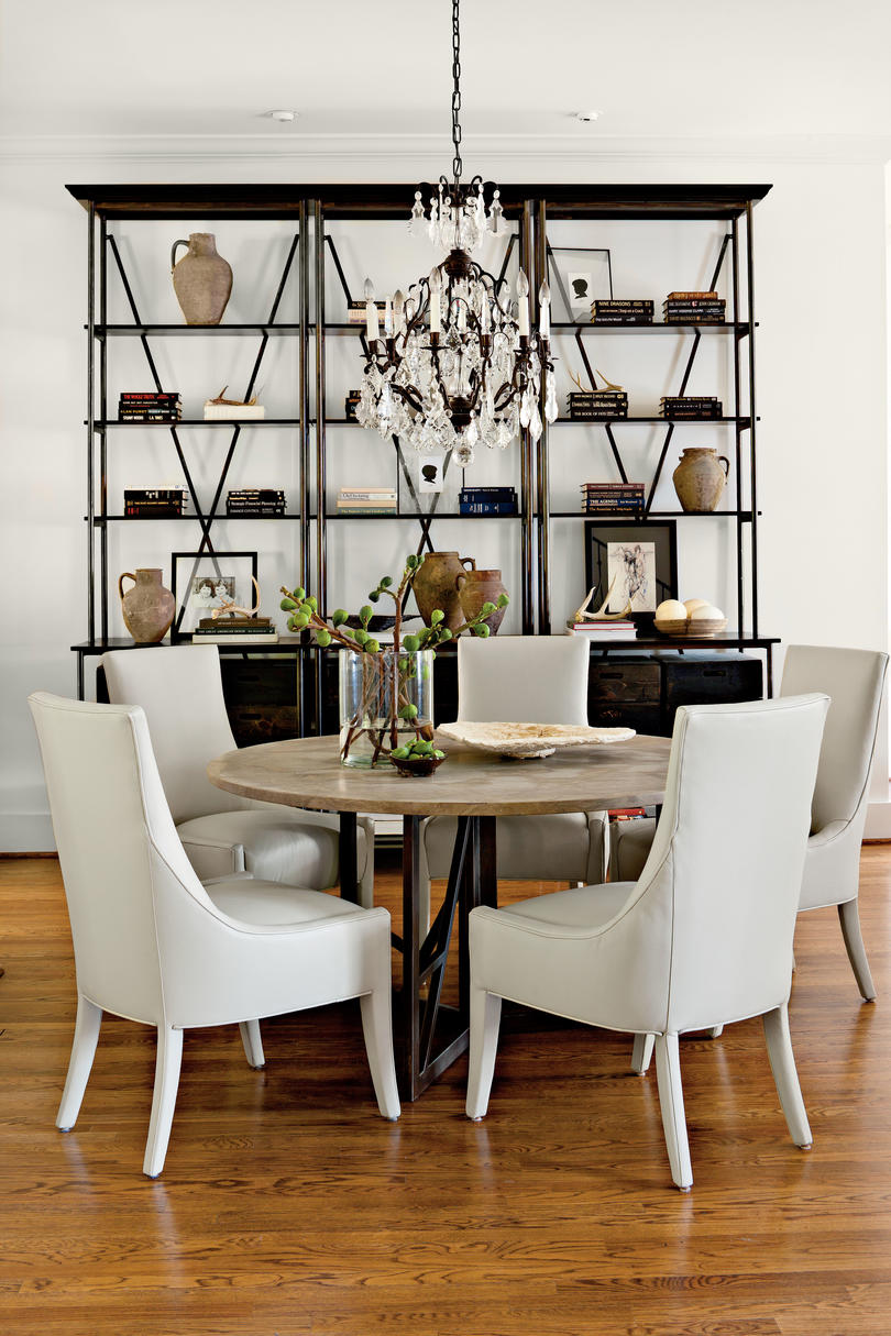 After: Neutral Update Dining Room
