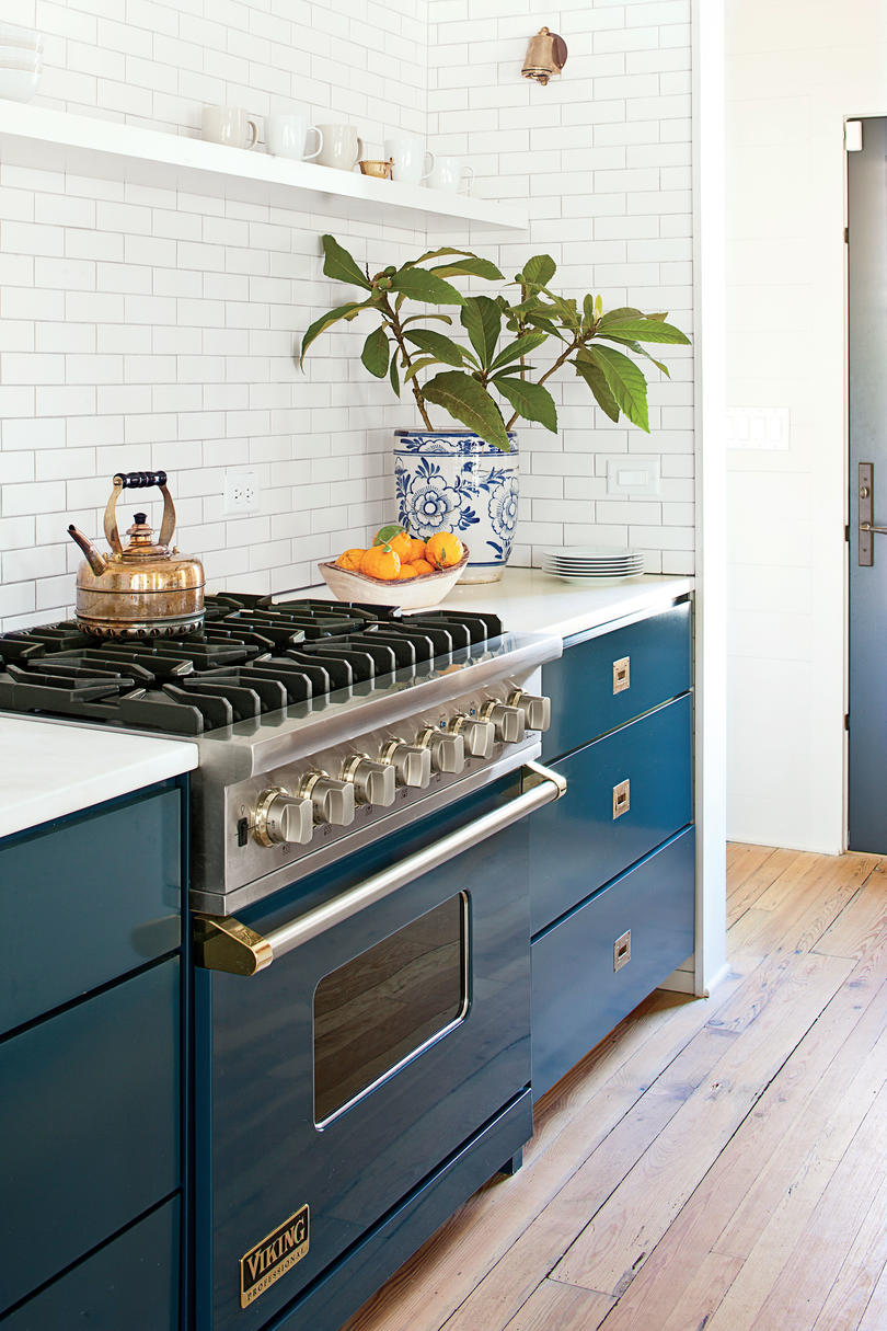 Kitchen: Pop of Color