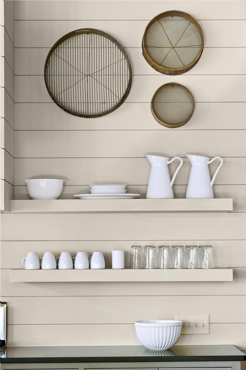 Kitchen Details: Open Shelving